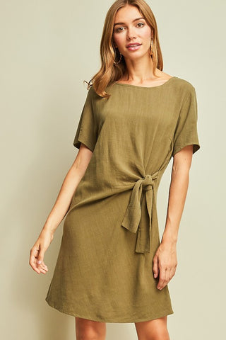 Work-Play Knot Dress