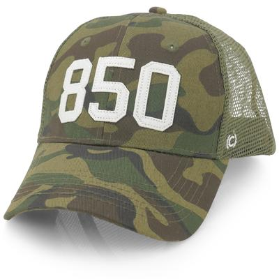 850 Panhandle Hat by (code)word - Camo