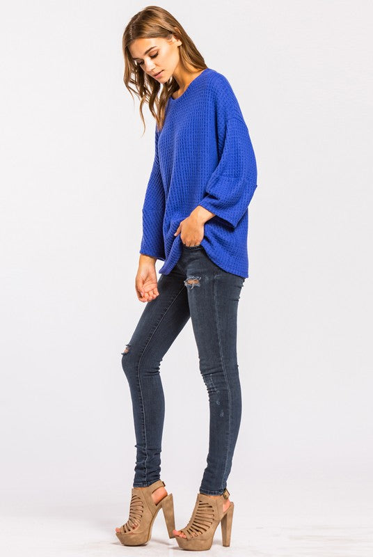 Vicksburg Thermal Knit Top