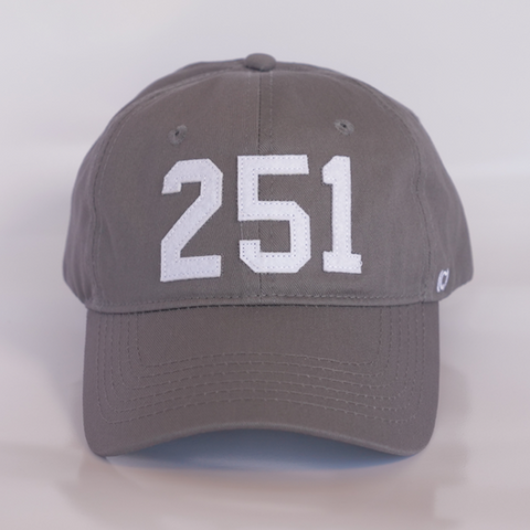 251 MOB Hat by (code)word - Grey