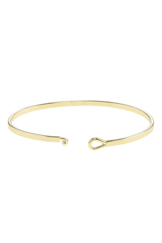 You're My Person Bangle - Gold