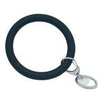 Bangle and Babe Bangle Bracelet Key Ring - Black