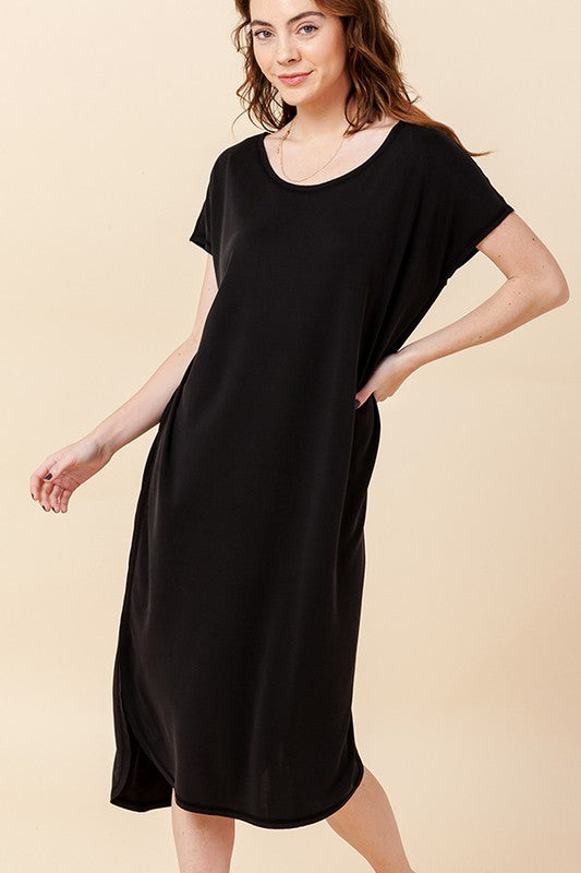 No Basic Days Dress - Black