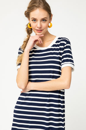 Naval Stripes Dress