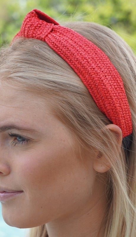 Jet Setting Headband - Red