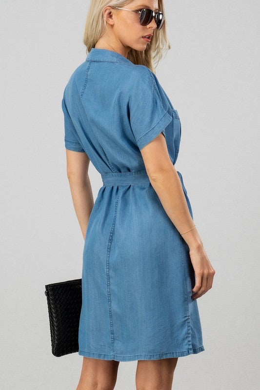 American Women Tencel Dress