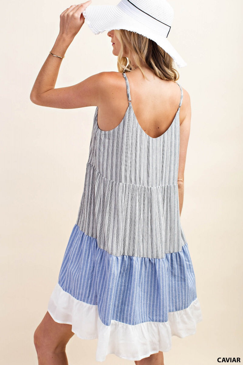 Rosemary Prep Stripe Dress