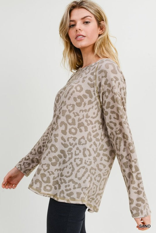 Wishful Thinking Leopard Top