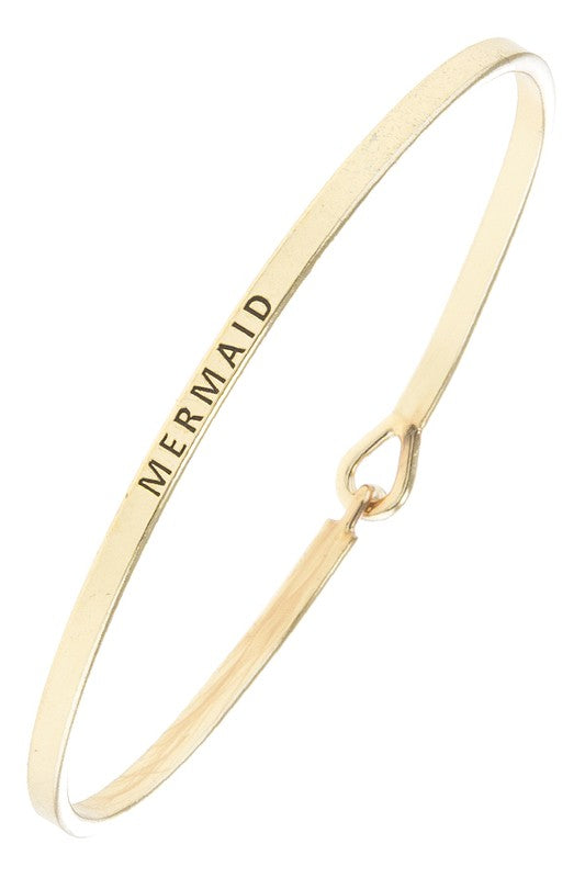 Mermaid Bangle - Gold