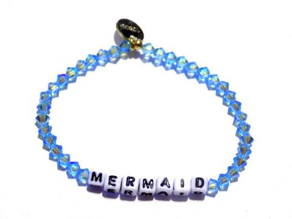 Mermaid {Aquamarine Swarovski Brillance Crystal}