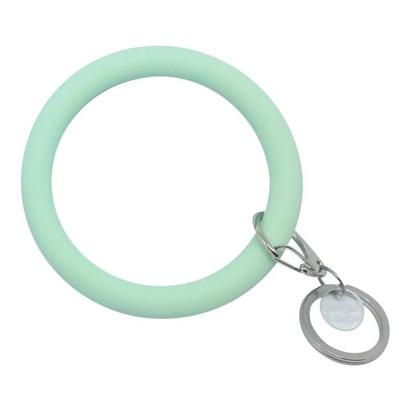 Bangle and Babe Bangle Bracelet Key Ring - Mint
