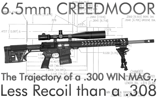 6.5 Creedmoor Precision Rifle Upper Receiver