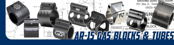 AR-15 Gas Blocks & Gas Tubes