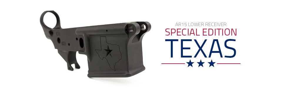 Aero Precision AR 15 Stripped Lower Special Texas Edition