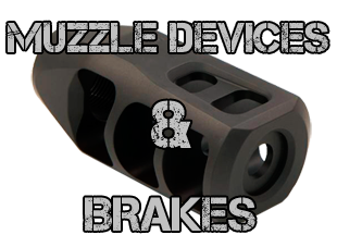 Muzzle Devices & Brakes for Big Bore AR Rifles