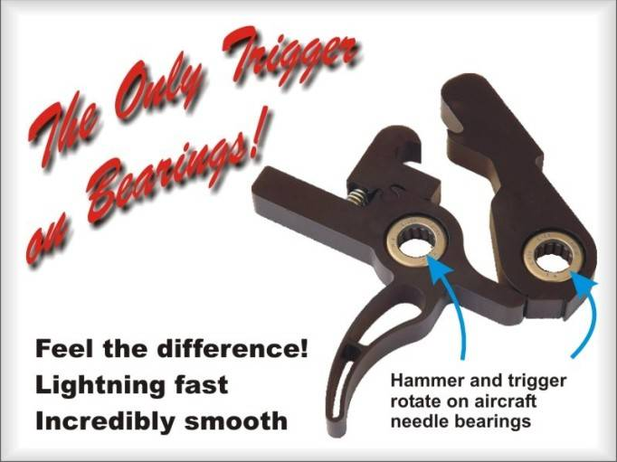 Elftmann Tactical - The Only AR Trigger on Bearings!