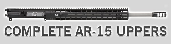 Complete AR-15 Upper Receivers