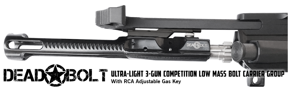 Dead Bolt Ultra-Light Adjustable Bolt Carrier Group