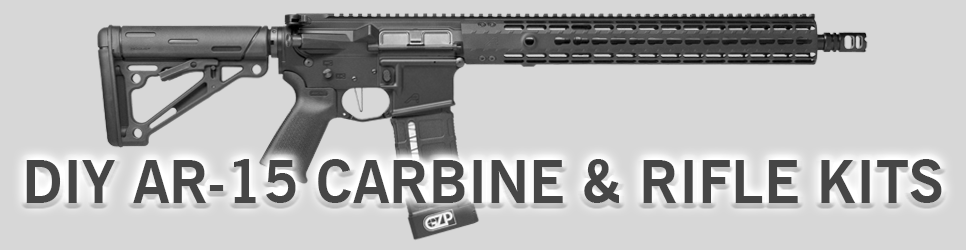 DIY AR-15 CARBINE & RIFLE KITS