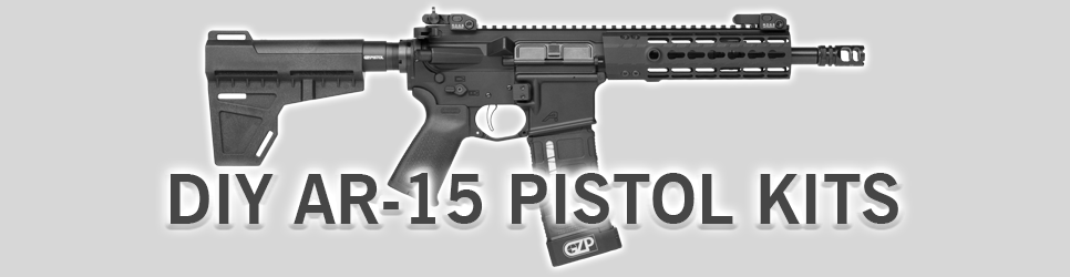 DIY AR-15 Pistol Kits