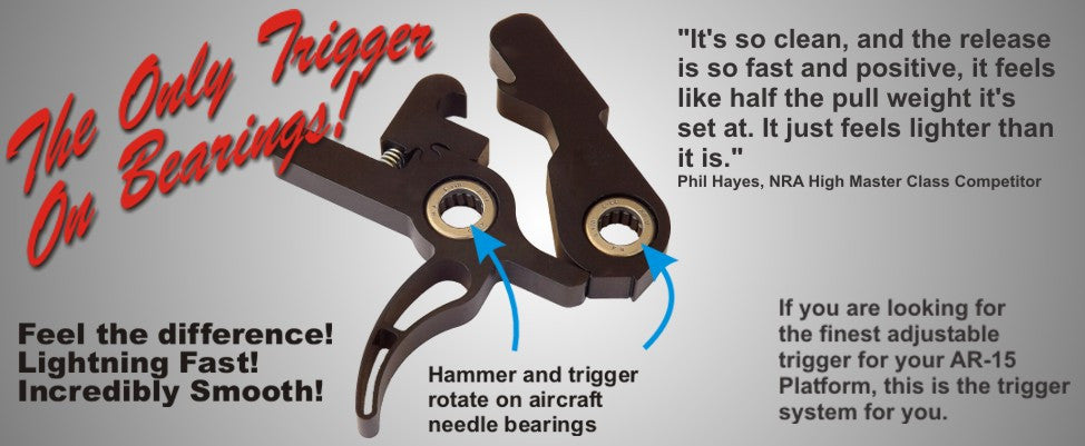 Elftmann Flat drop in AR 15 Trigger
