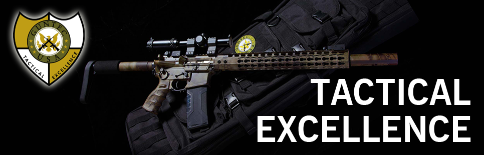 Guntec USA Full Length Skeletonized Competition AR 15 Stock Kit