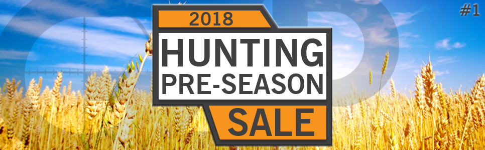 Hunting Pre-Season 2018 Rifle Sale