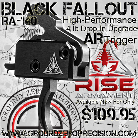 Rise Armament Black Fallout RA-140 SST Drop-In AR Upgrade Trigger Announcement