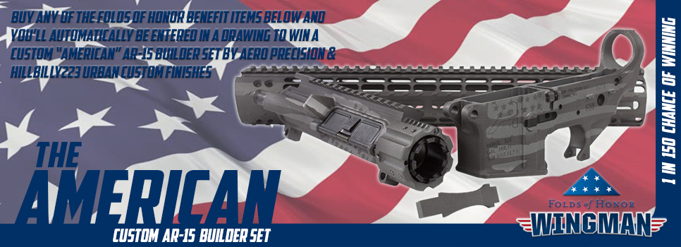 American AR-15 Customer Builder Set Benefitting Folds of Honor Foundation