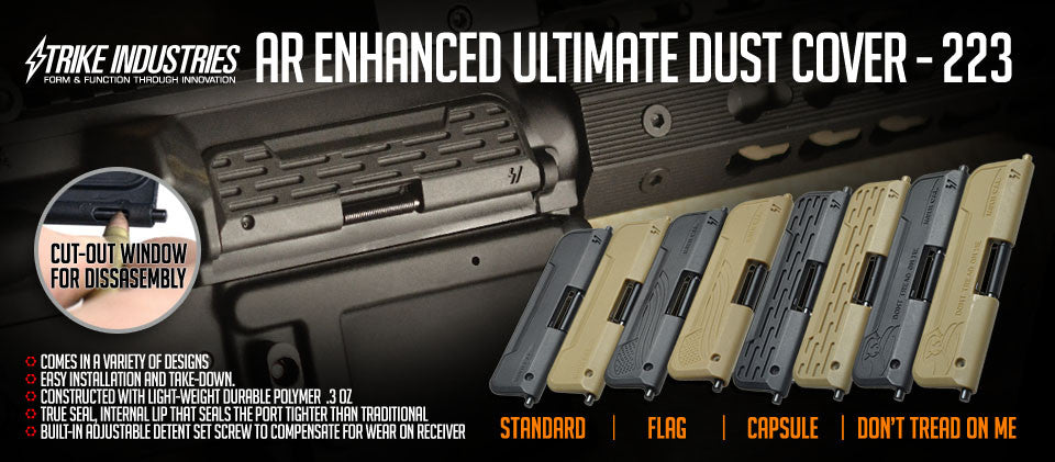 Strike Industries U.D.C. Ultimate Dust Cover Capsule FDE