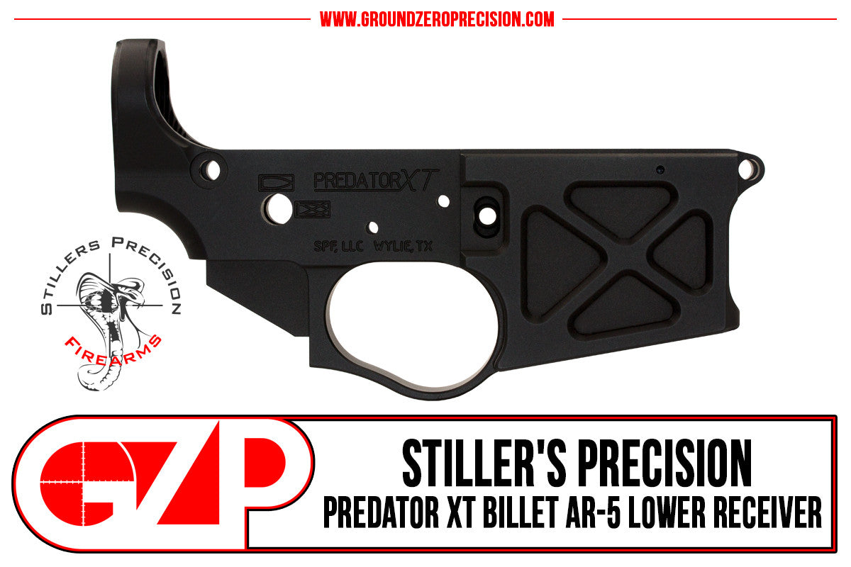 Stiller's Precision Predator XT AR15 Lower receiver