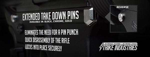 Strike Industries Extended Takedown Pins