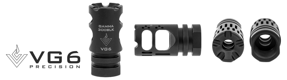VG6 Precision Gamma 300BLK High Performance Muzzle Break