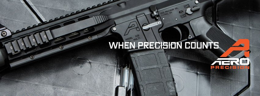 Aero Precision stripped AR 15 Upper Receiver without forward assist