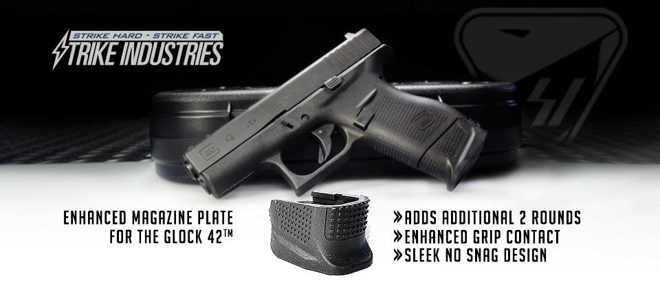 Strike Industries Enhanced Magazine Plate for Glock 42