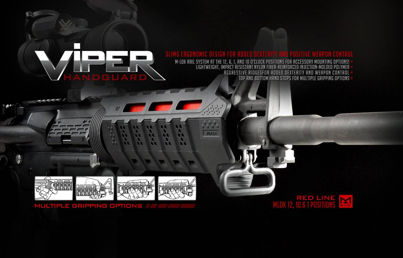 Strike Industries Viper AR15 Hand Guard Kit - Black