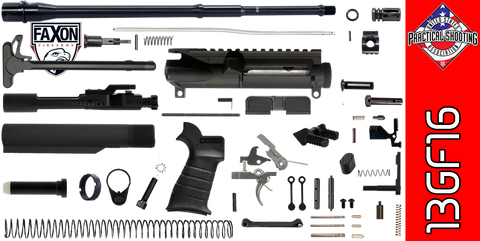 "DIY 16"" Multi-Gun Competition AR-15 Rifle Kit (3GF16) - FREE SHIPPING"
