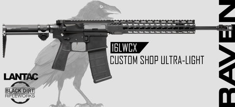 LANTAC / BDR LA-N15 RAVEN 16LWCX Custom Shop Ultra-Light AR15 Rifle