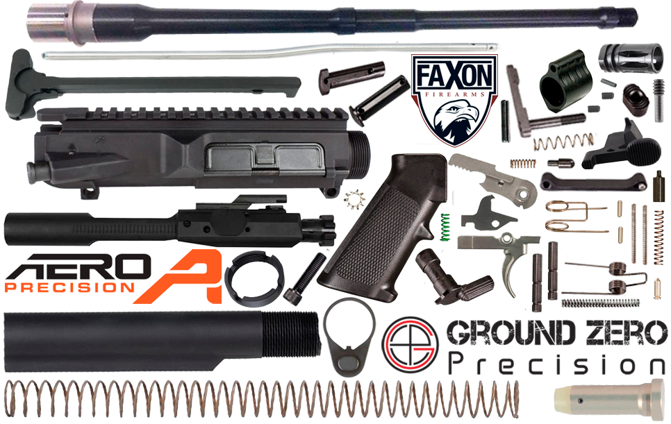 "18"" .308 AR (DPMS Profile) Project Build Kit FAXON Firearms"