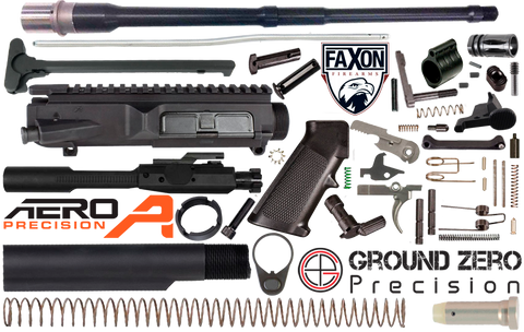"18"" .308 AR (DPMS Profile) Project Build Kit - 308-FX-AERO-KIT-18-1"
