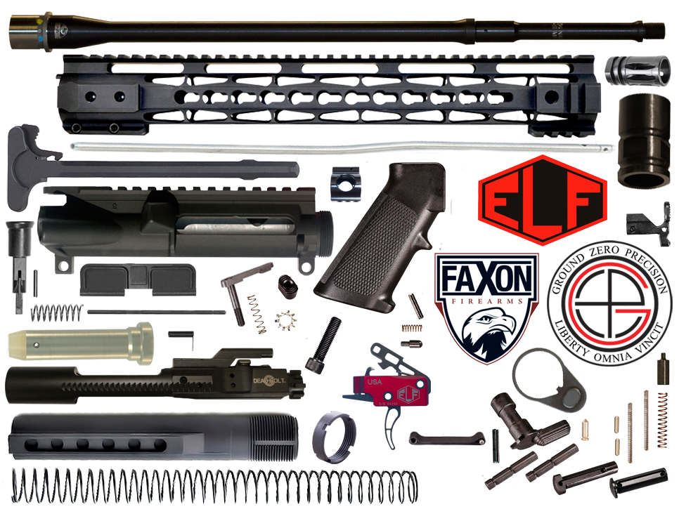 Multi-Gun Competition FAXON & ELFTMANN AR15 Rifle Project Kit