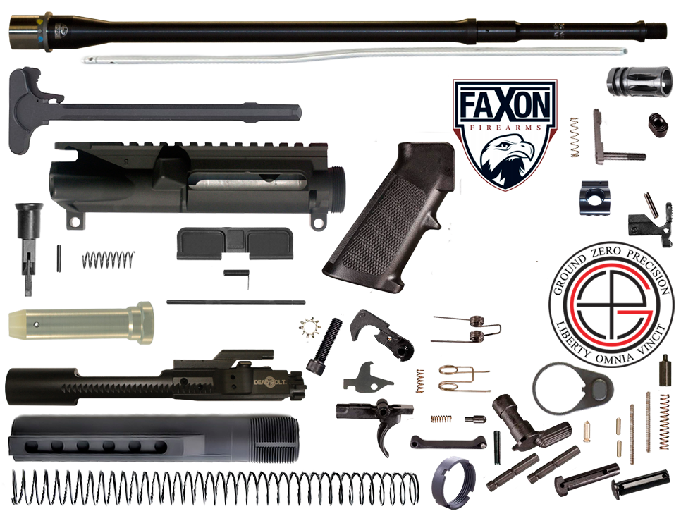 "DIY 18"" Multi-Gun Competition FAXON AR15 Rifle Project Kit"