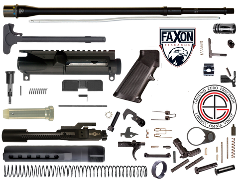 "DIY 18"" Multi-Gun Competition FAXON AR15 Rifle Project Kit 1F"