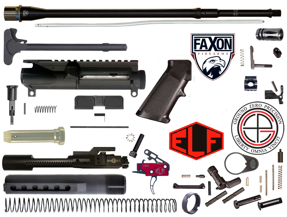 "18"" Multi-Gun Competition FAXON AR15 Rifle Project Kit"