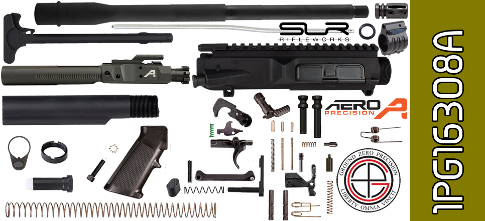 "DIY 16"" SOCOM DPMS Profile AR .308 Project Kit with Adjustable Gas"