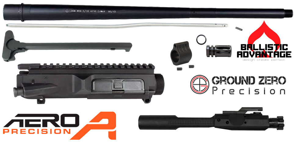 "20"" AR .308 Premium Upper Receiver Project Kit"