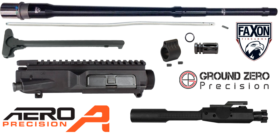 "20"" AR .308 Premium Upper Receiver Project Kit (2)"