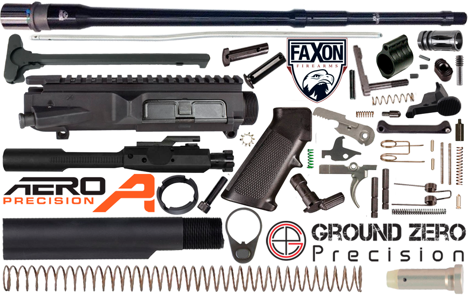 "18"" .308 AR (DPMS Profile) Project Build Kit - FAXON Firearms"