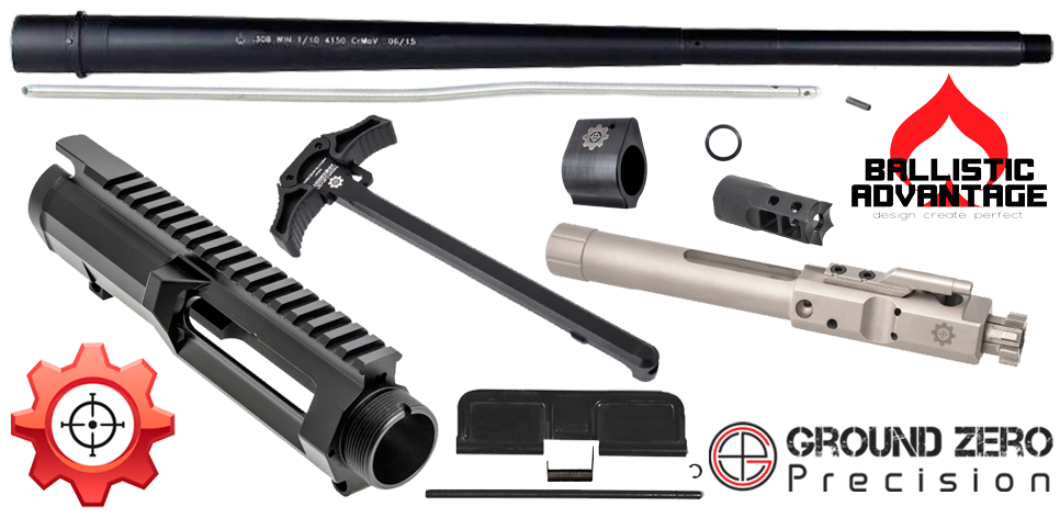 "20"" Next Level Arms & Ballistic Advantage Premium AR .308 Upper Receiver Project Kit"
