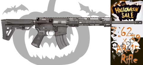 Black Dirt Rifleworks BrushBuster 7.62 X 39 AR15 Rifle